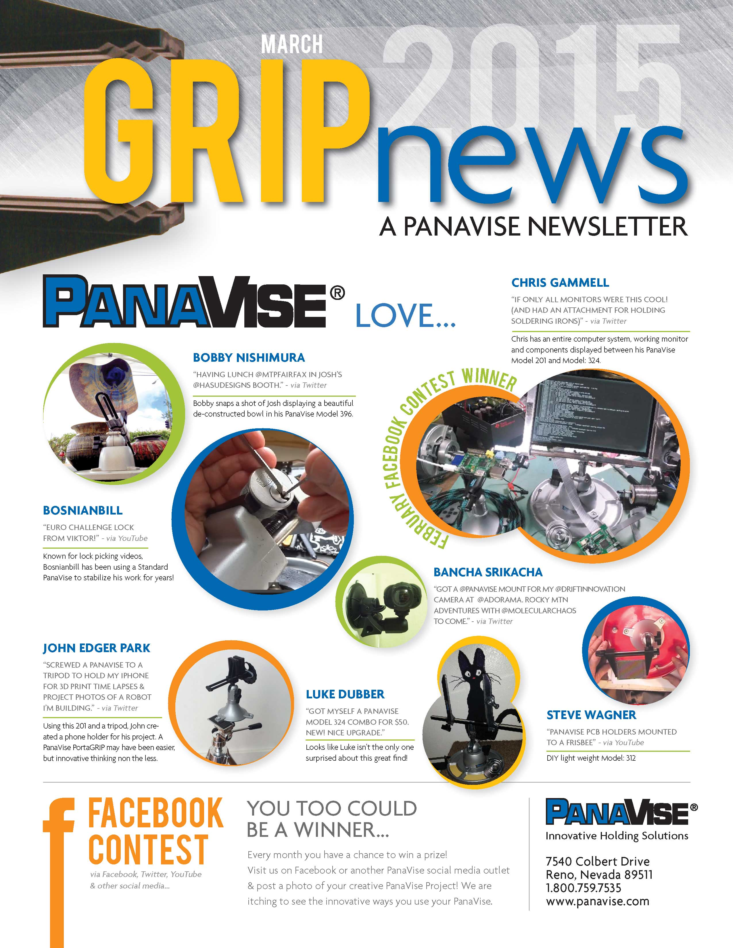 Panavise Products Inc What Is A Printed Circuit Board Soldering Youtube 2016 Car Release March 2015 Newsletter